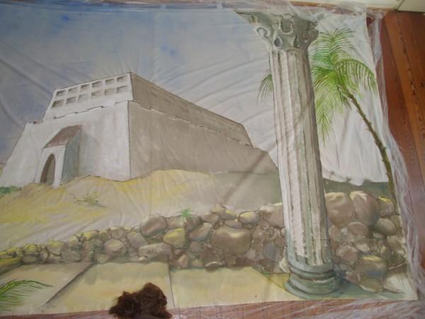 Bühnenbild König David